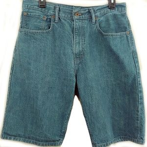 Levi's 569 Shorts Loose Fit Size 32